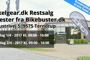Cykelgear.dk inviterer til rest/lagersalg