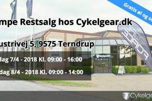 CykelGear.dk holder restsalg d. 7-8/4