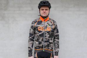 Test: Alé PRR Camo vinter cykeljakke