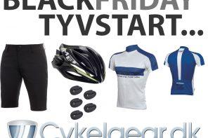 Cykelgear.dk tyvstarter Black Friday 2017!
