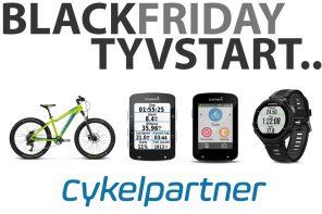 CykelPartner.dk tyvstarter Black Friday!