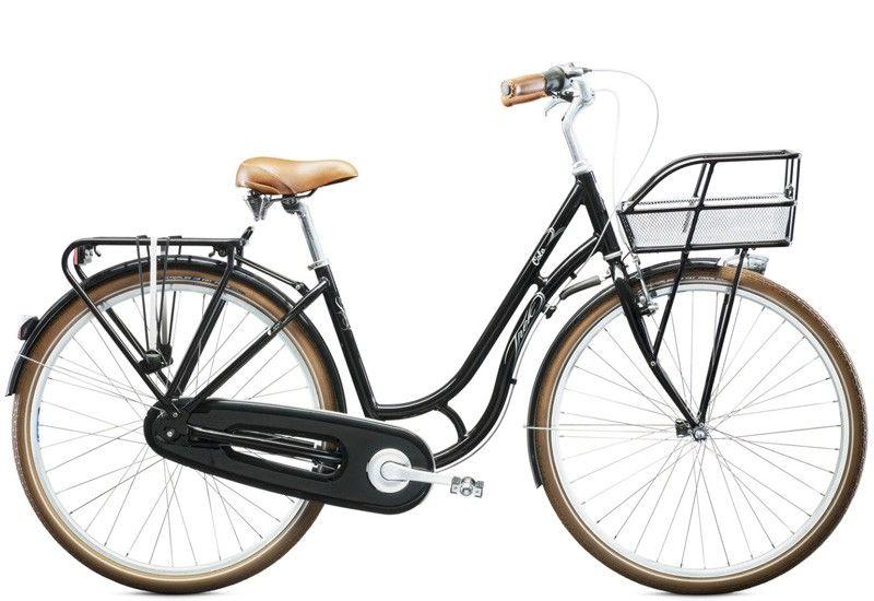 Skifte dæk på cykel med indvendig gear