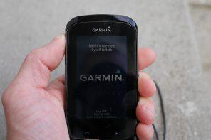 Guide: Tilføj din egen opstartstekst til Garmin Edge