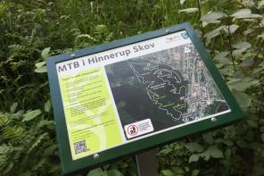 Det officielle MTB Spor i Hinnerup Skov