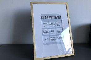 Dialægt: Fede plakater til cykelnørden