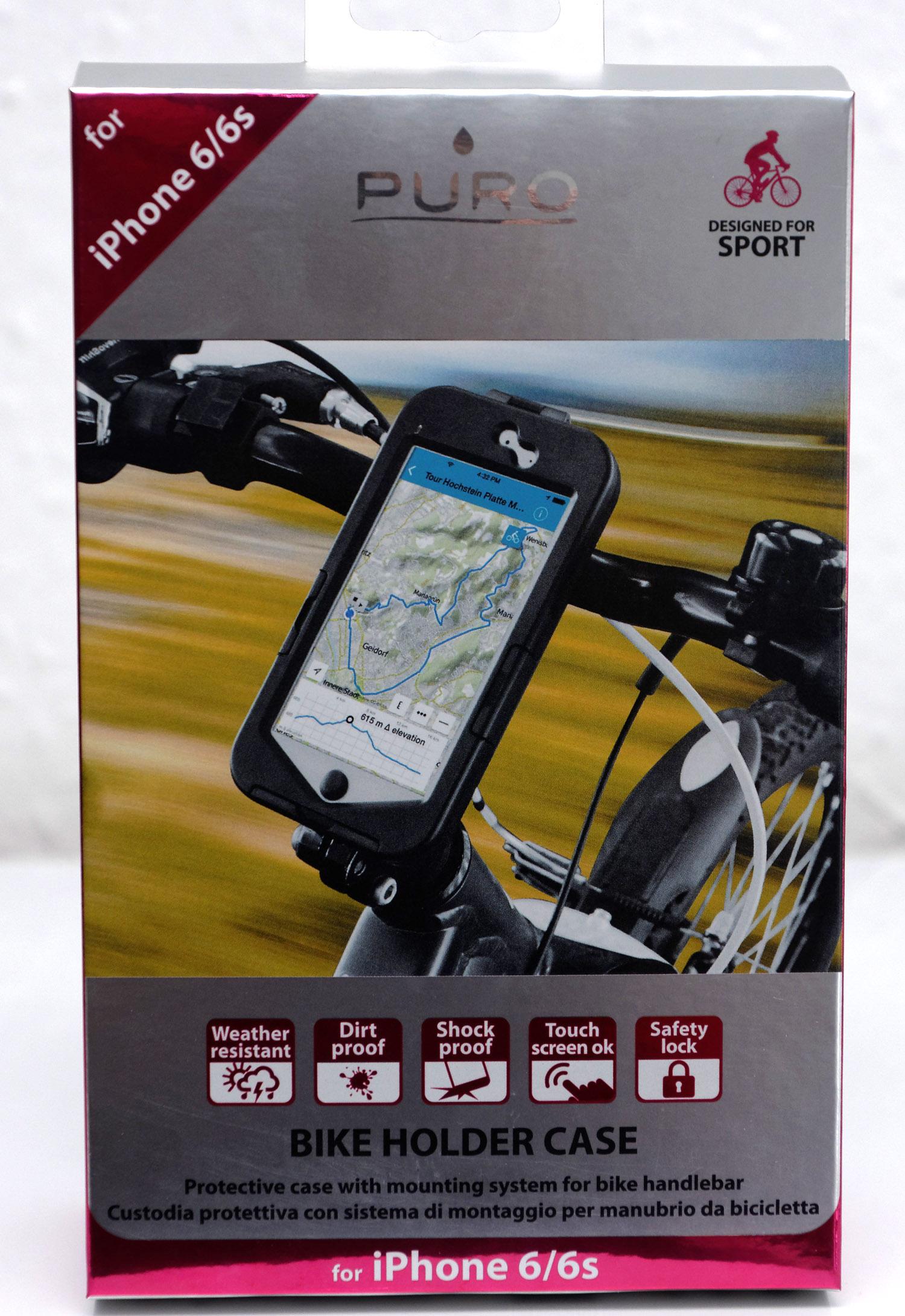 Frisk Test: Puro iPhone 6 cykelholder | CykelStart.dk LY-92