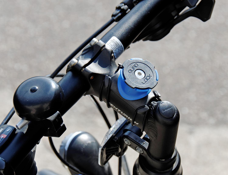Flot Anmeldelse: Quad Lock Bike kit holder til iPhone 5 | CykelStart.dk VM-05