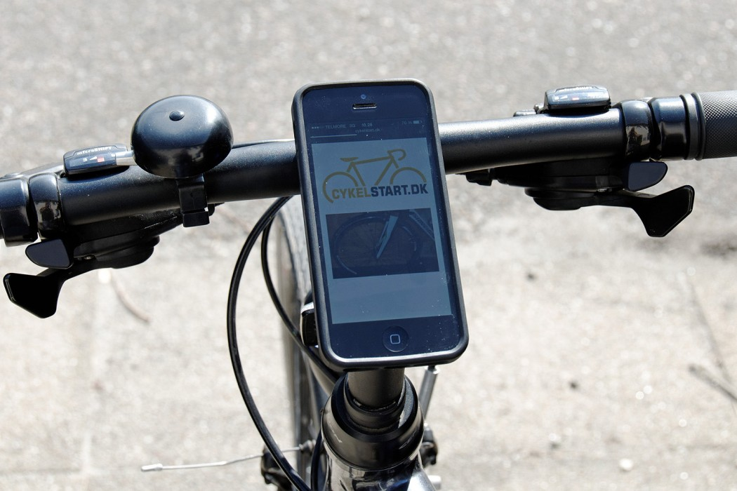 Folkekære Anmeldelse: Quad Lock Bike kit holder til iPhone 5 | CykelStart.dk JB-04