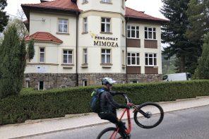 Med Mountainbiken til Polen/Tjekkiet