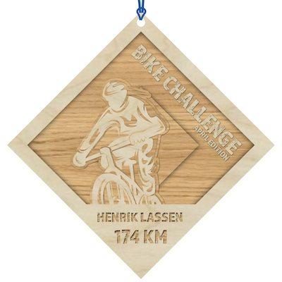 "Bike Challenge – Virtuelt ""cykelløb"""