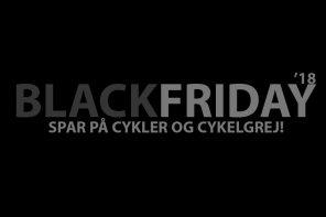 Black Friday 2018: De bedste tilbud på cykler og cykelgrej