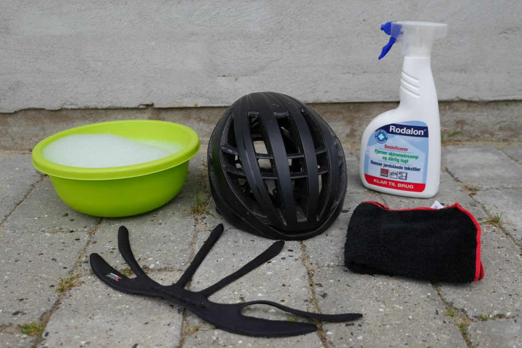 Ubrugte Guide: Rengøring af cykelhjelm | CykelStart.dk RJ-15