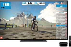 Zwift på Apple TV
